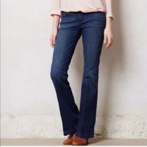 Pilcro and the Letterpress Flare Leg Stet Jeans